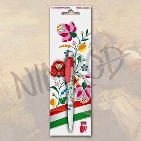 aad36eb9a0 Kalocsai virágmintás toll - Nimród Ruházat
